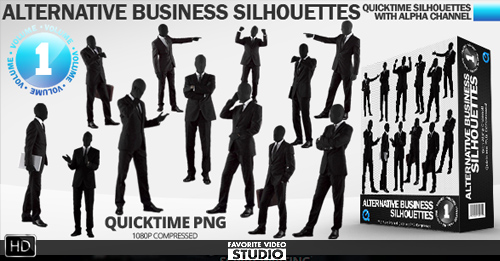 Business Alternative Silhouettes Vol 01