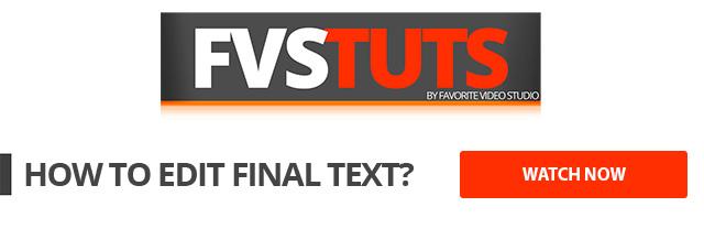 FVSTuts - Tutorials How to Change Final Text?