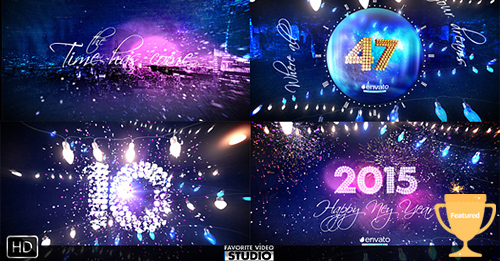 New Year Eve Party Countdown 2015