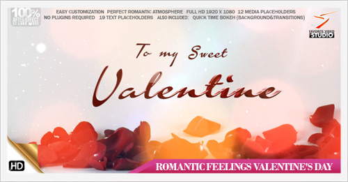 Romantic Feelings Valentines day