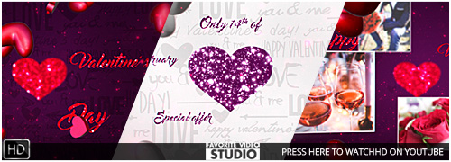 Valentine's Day Logo 3in1 2016
