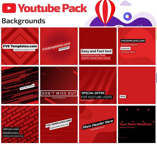 Youtube Toolkit Pack 400+